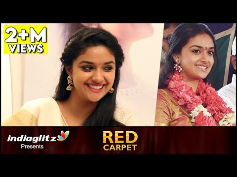 Mine-will-be-a-Love-Marriage--Keerthi-Suresh-Interview-Remo-Red-Carpet-About-Vijay-Bhairava