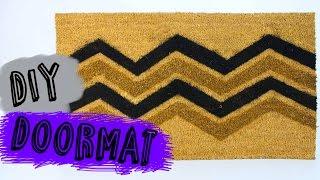 Easy DIY Room Decor | How To Make A Doormat