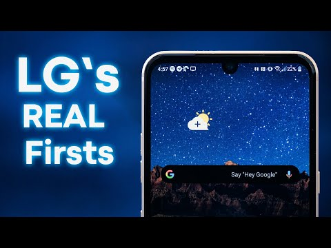LG Smartphones: The Real Firsts