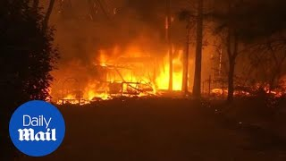 Trump Blames California As Wildfire Death Toll Continues To Rise