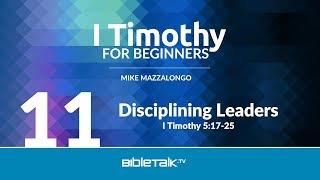 Disciplining Church Leaders