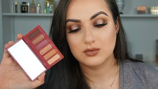 APHRODISIAC PALETTE BY URBAN DECAY REVIEW SWATCHES AND TUTORIAL| Patty