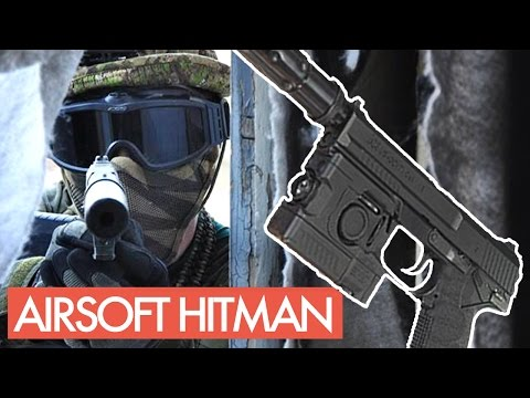 Airsoftový Hitman