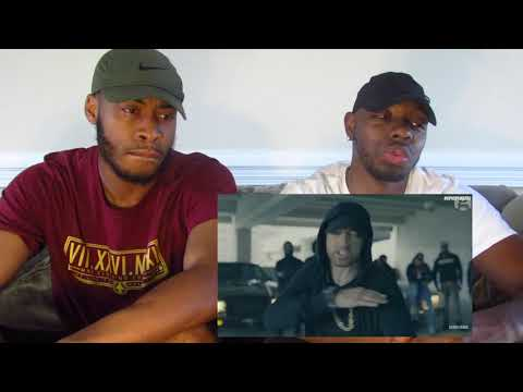 Eminem Rips Donald Trump In BET Hip Hop Awards Freestyle Cypher REACTION!!!