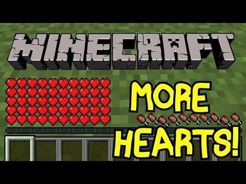 Minecraft |  How To Get Maximum Health In Minecraft Vanilla! | Tutorial | No Mods!