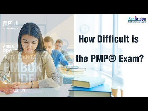 How difficult is the Project Management Professional (PMP)® Exam ...