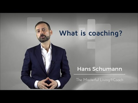 What is coaching?<br />A short explanation of what coaching is