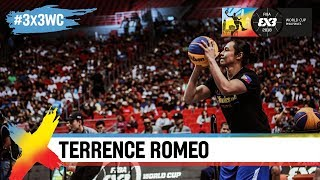 VIP shootout contest feat. Terrence Romeo @ FIBA 3x3 World Cup 2018 in Manila!