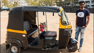 Bajaj Compact 4S Auto Rickshaw - 3-Wheeler Tuk-Tuk | Faisal Khan