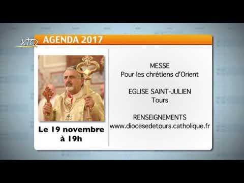 Agenda du 17 novembre 2017