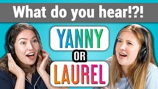 YANNY or LAUREL: What do you hear? (REACT) - Video Youtube