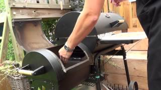 Langzaam gerookte procureur van het Iberico varken op de BBQ