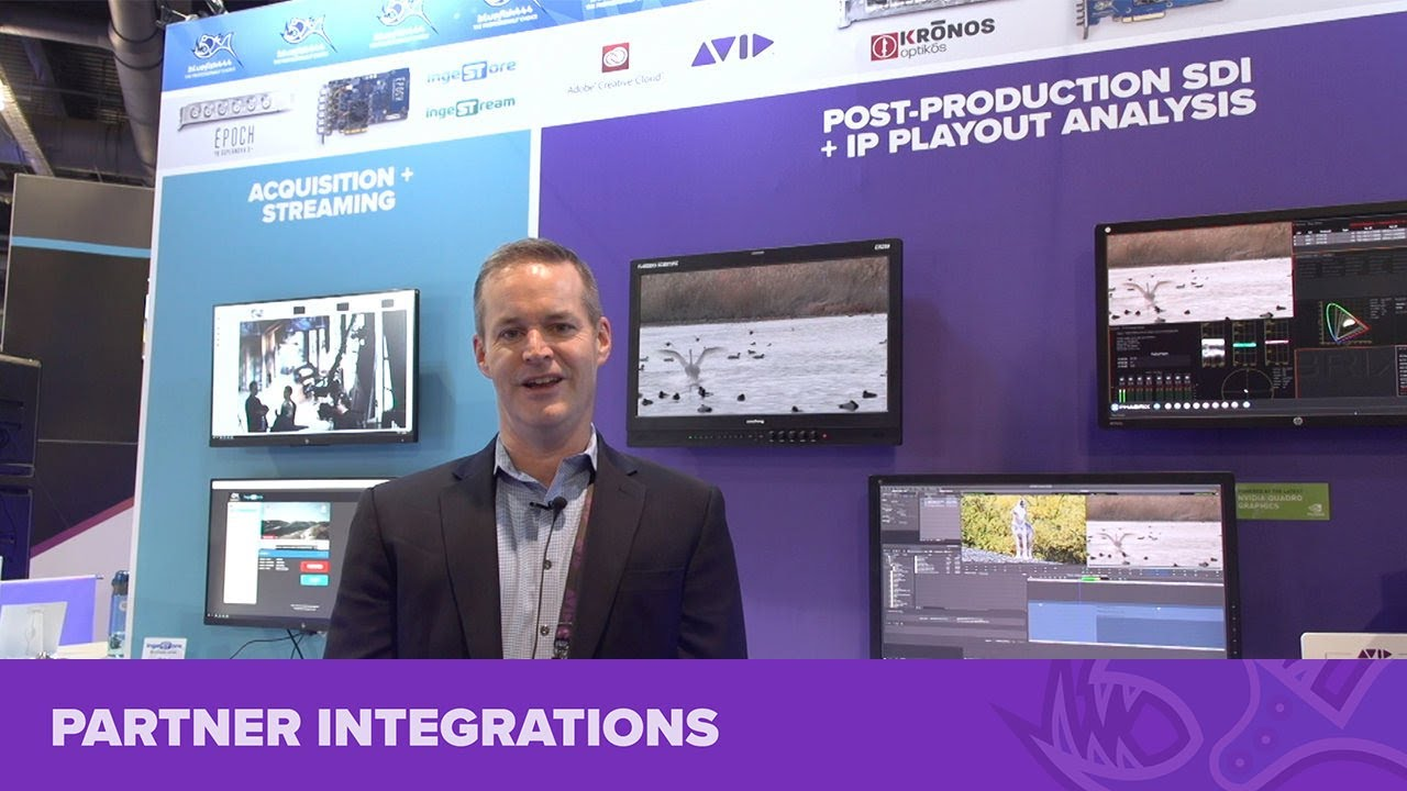 Bluefish444 with Avid at NAB Show 2019