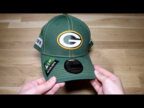 New Era Sideline Road 39 Thirty Green Bay Packers Cap in Offical Team Colour