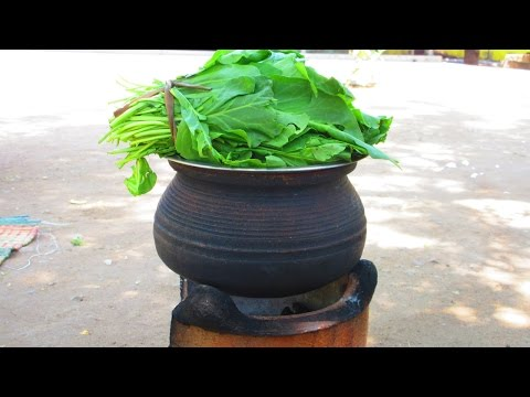 Traditional Spinach Recipe Cooking in My Village | VILLAGE FOOD