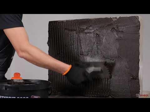 Гидроизоляция (при - С°) Клей для пенополистирола Styrbit 2000-K youtube