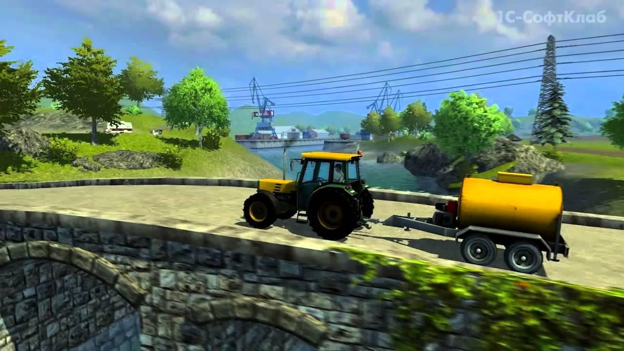 Обложка видео Трейлер #2 Farming Simulator 2013
