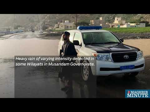 Heavy rain hits parts of Oman