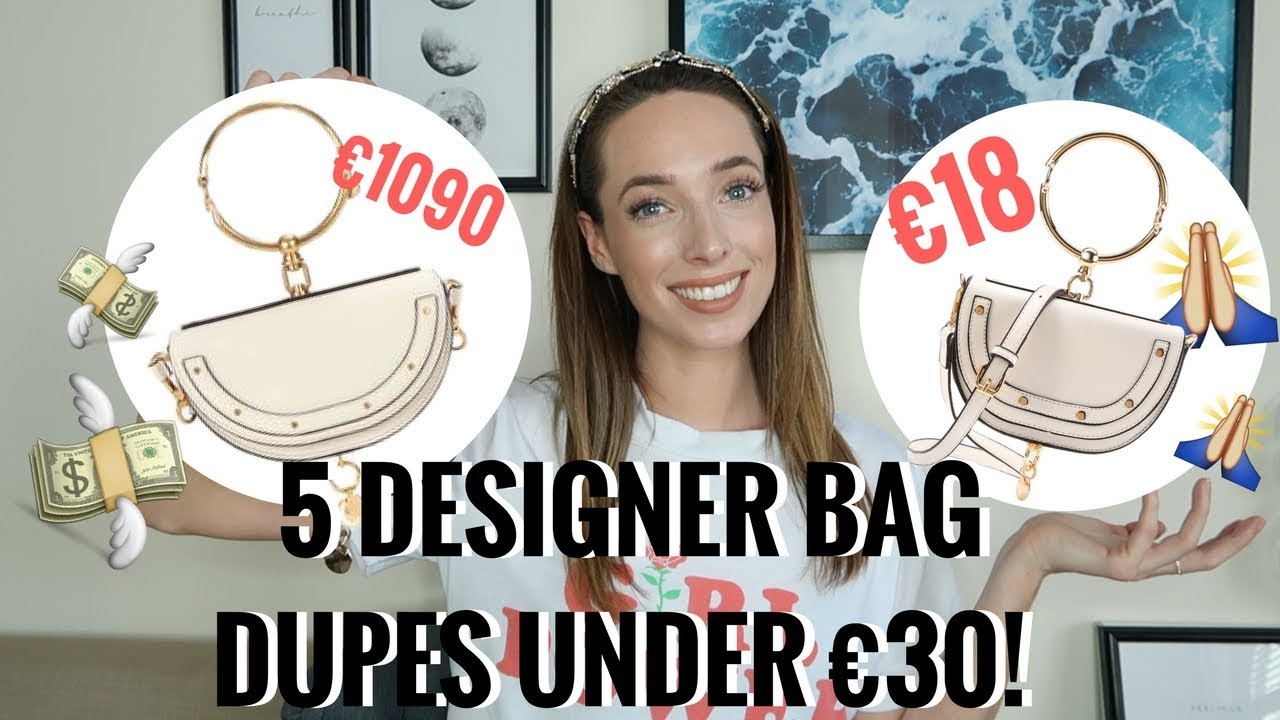 5 DESIGNER DUPE BAGS UNDER €30! 👜  GUCCI, PRADA, CHLOE, CHANEL & MORE | CIARA O DOHERTY