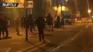 RAW: Police shutdown Manchester city center after