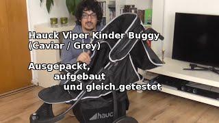 Hauck Viper Kinderwagen: Ausgepackt, aufgebaut und getestet | Unboxing + Ersteindruck  | Deutsch |