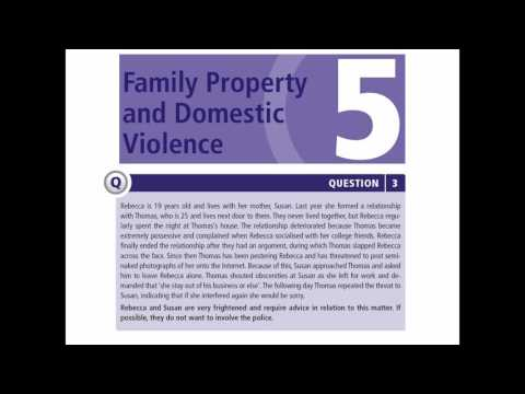 Concentrate Q&A Family Law: Answer plan guidance
