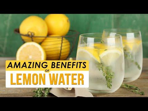 Lemon Water | 6 Benefits Of Drinking Lemon Water Every morning | Healthfolks