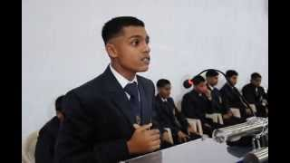 Sainik School Bijapur Adarsh ABHoyDeclamationSrs July 2013