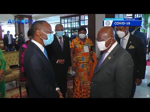 Vice-PR testemunha investidura de Nana Akufo Addo