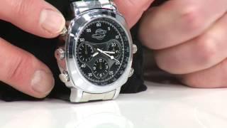 OctaCam 5in1-Kamera-Uhr mit Voice-Recorder