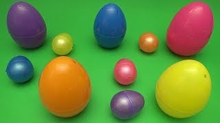 Surprise Egg Opening Matching Game for Kids!  Learn Colours with Surprise Eggs!