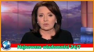 Skandaliczne zachowanie TVP Wiadomości! Ujawnili na wizji poufne dane - Aktualności 24/7