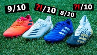 Welcher neue Adidas Fußballschuh ist der Beste?!