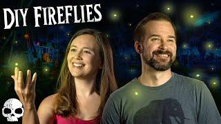 DIY Halloween Props - Making Disneylands Fireflies Effect!