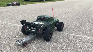 132ft RC Drag Racing Test&Tuning