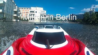 RC Speed Boot in Berlin Tegel am Hafenbecken mit dem Modellbau Club Lübars ( MCL ) am 18.06.2017