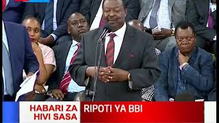 Mudavadi: Let us be sober and interrogate the BBI document