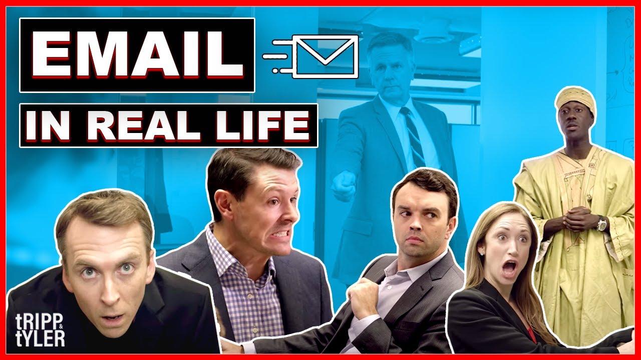 Se um email tivesse vida.