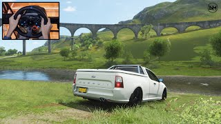 Forza Horizon 4 - Ford FPV Limited Edition Pursuit UTE test drive offroad | logitech g29 gameplay