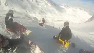preview picture of video 'Solden - Swatch Snowpark'
