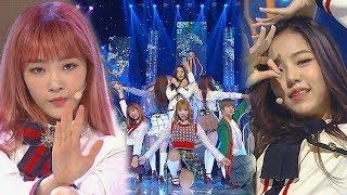 《Debut Stage》 GWSN(공원소녀) - Puzzle Moon(퍼즐문) @인기가요 Inkigayo 20180909