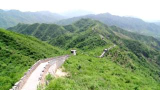 Video : China : A view from MuTianYu Great Wall - video