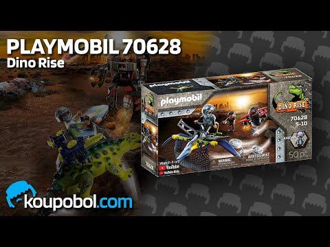 Vidéo PLAYMOBIL Dino Rise 70628 : Ptéranodon et drone