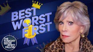 A Bear BrokeintoJane Fonda's Bedroom | The Tonight Show Starring Jimmy Fallon