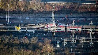 Luxemburgo: el tren de pasajeros que chocó con otro de mercancías se saltó un stop