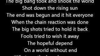 Rush-Manhattan Project (Lyrics)