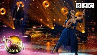 Luke Evans Performs 'Bring Him Home' - Week 8 Results | BBC Strictly 2019