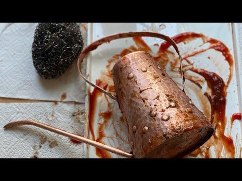Kupfer reinigen 🧽 Ketchup ein kleines Wundermittel Super Tipp: #aysekochtlecker