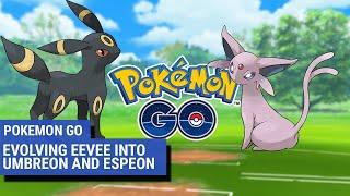 Leafeon  - (Pokémon) - Pokémon Go: How to evolve Eevee into evolutions Umbreon and Espeon