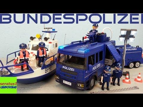 Playmobil 1 x Playmobil Schnellboot Bundespolizei aus 9400 Öffentliche Dienste